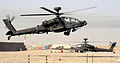 Apache Helicopter Land at Camp Bastion Airfield, Afghanistan MOD 45153345.jpg
