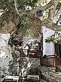 Apeiranthos, Taverna Platani and a church, 19M7570.jpg
