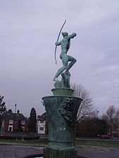 Apollo fountain - Coronation Gardens, Ednam Road, Dudley (5327569289).jpg