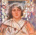 Apoloniusz Kędzierski - Dziewczyna 1911.jpg