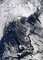 April 20, 2010, Ash plume from Eyjafjallajokull Volcano .jpg