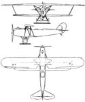 Arado SC.I 3-view Le Document aéronautique March,1927.png