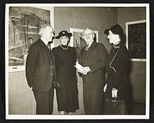 Archives of American Art - Audrey McMahon and Holger Cahill with group of people - 6130.jpg