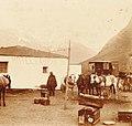 Archivo General de la Nación Argentina 1890 aprox Uspallata, hotel Las Cuevas.jpg