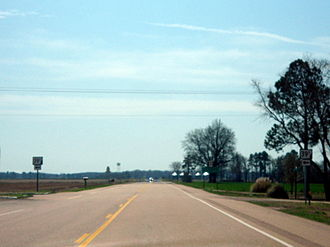 Arkansas Highway 39 - Highway 39S terminus at US 49