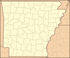 Altheimer, Arkansas на мапи Arkansas