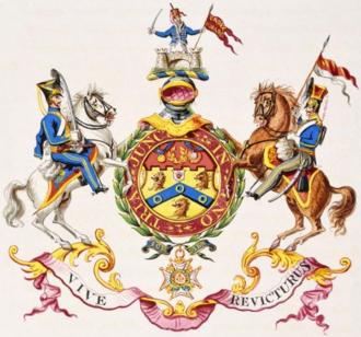Hussey Vivian, 1st Baron Vivian - Image: Arms (Richard)Hussey Vivian 1st Baron Vivian Died 1842