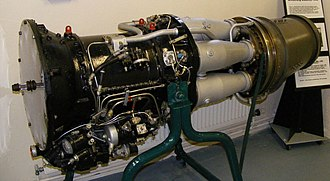 Armstrong Siddeley Mamba - ASM.3 engine at the Armstrong and Aircraft Museum at Bamburgh Castle.