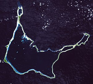 Arno Atoll - NASA picture of Arno Atoll