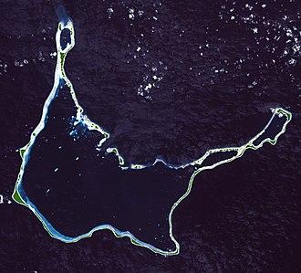 Arno Atoll - NASA picture of Arno Atoll