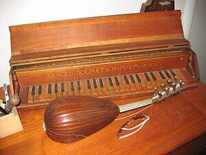 Arnold Dolmetsch - Image: Arnold Dolmetsch piano