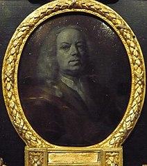 Portrait of Frans Greenwood, Miniaturist, Glass Engraver and Poet in Dordrecht