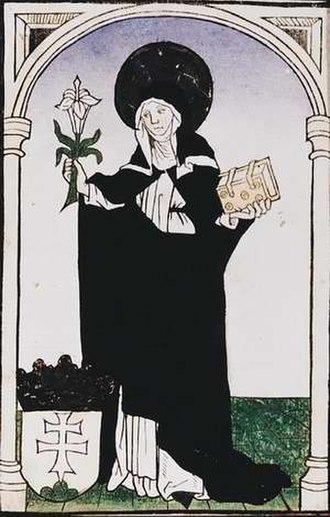 Margaret of Hungary (saint) - Image: Arpadhazi szent margit