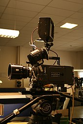 A photograph of an Arri Alexa digital motion picture camera system