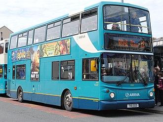 VDL DB250 - Image: Arriva Buses Wales Cymru 4060 T110GGO (8716620875)