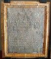Arte augustea, elogio di appio claudio cieco in bronzo con cornice non pertinente.JPG