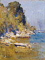 Arthur Streeton - From my camp (Sirius Cove) - Google Art Project.jpg