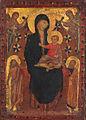 Artista fiorentino influenzato da cimabue, madonna kress.jpg