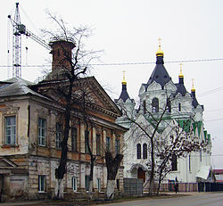 Arzamas. Near Smolenskaya Church.jpg