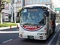 Asahibus 1051 at Minami-Koshigaya Station.jpg