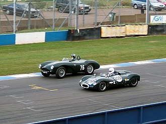 Owen Maddock - T39 alongside Aston DB3S