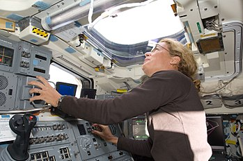 English: Canadian Space Agency astronaut Julie...