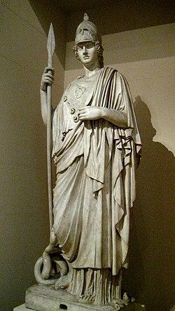 Древнегреческая богиня войны победы мудрости