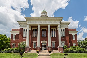 Kosciusko, Mississippi - Image: Attala County Courthouse Kosciusko, Mississippi (27832990031)