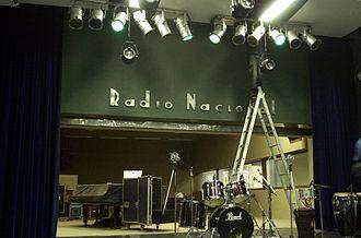 Rádio Nacional - The Radamés Gnatalli Auditorium in Rio de Janeiro, which belongs to Rádio Nacional.