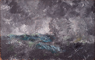 Storm in the Skerries. \
