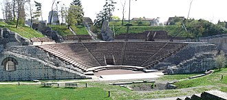 Augst - Image: Augusta raurica theater