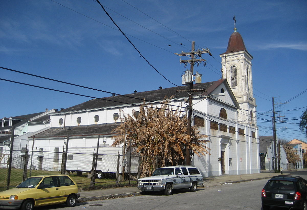 st augustine church new orleans wikipedia. Black Bedroom Furniture Sets. Home Design Ideas