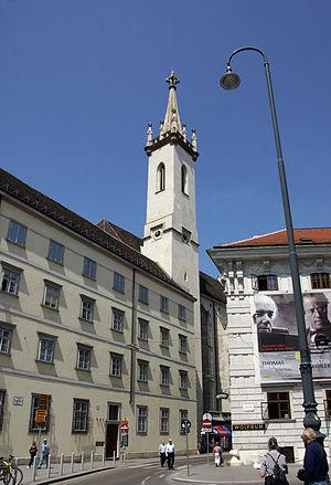 Herzgruft - Augustinian Church in Vienna, which houses the Herzgruft