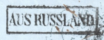 Aus Russland marking on Russian mail - type RY5.png