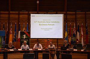 Philippe Germain - Germain at the Australia-New Caledonia Business Forum 2015