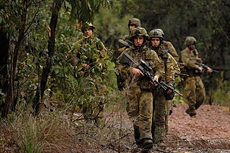 2nd Battalion, Royal Australian Regiment - 2 RAR soldiers during Exercise Talisman Sabre in 2007