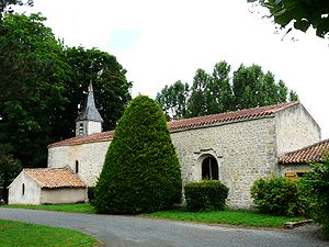 Availles-Thouarsais - The church in Availles-Thouarsais