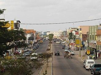 Alvorada - Image: Avenida Pres Vargas munícipio de Alvorada RS