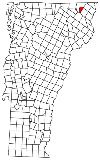 Gore (surveying) - Averys Gore, Vermont: a small area of land in the far northeast of the state, shaped so that it cannot easily fit with any neighbors except another gore to the west.