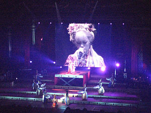 "Ayumi Hamasaki - Hamasaki performing the song ""Part of Me"" in her Tour of Secret"