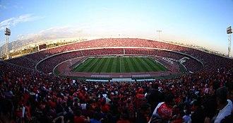 2018 AFC Champions League Final - Azadi Stadium in Tehran, Iran, hosted the second leg.