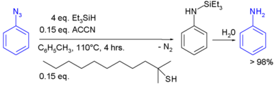 Azide Reduction By Triethylsilylhydride