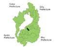 Azuchi in Shiga Prefecture.png