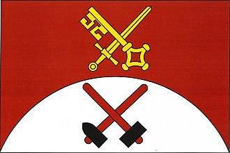 Bílý Kámen - Image: Bílý Kámen vlajka