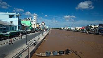 Bạc Liêu (city) - Image: Bạc Liêu skyline