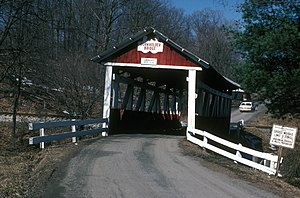 Beechdale Bridge - Image: BEECHDALE COVERED BRIDGE