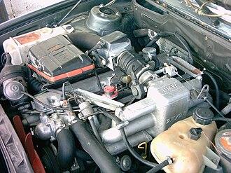 BMW M30 - Image: BMW E28 motor