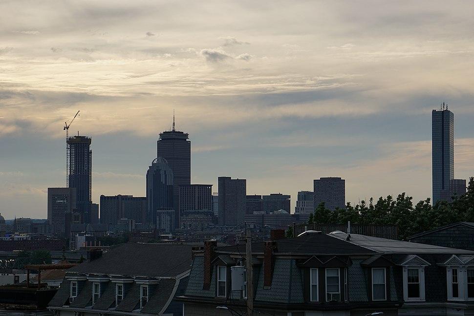 Back Bay Skyline from South Boston