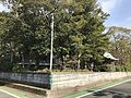 Back view of Sannomiya Shrine near Hatae Station.jpg