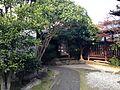 Back view of moya of birthplace of Kitahara Hakushu.JPG